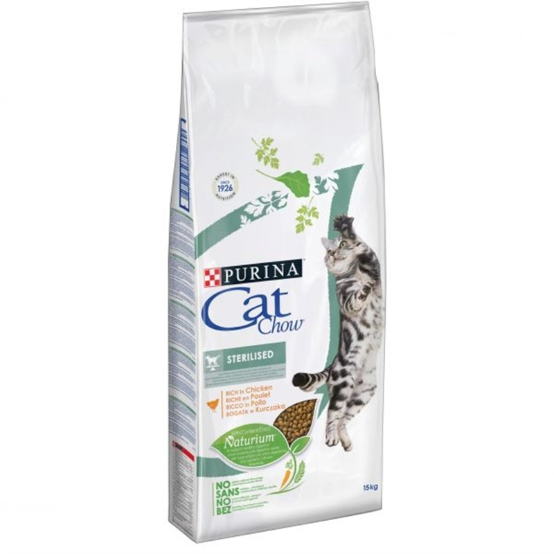 Cat Chow Sterilized 1,5kg - 1530060021