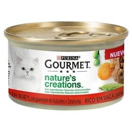 Gourmet Natures Creations Vaca 85gr - 1540260160