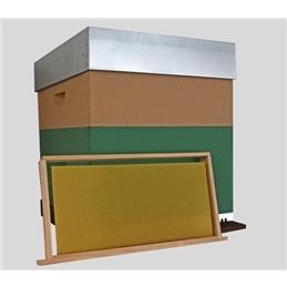 Colmeia madeira com Alça e com cera - 0460205052