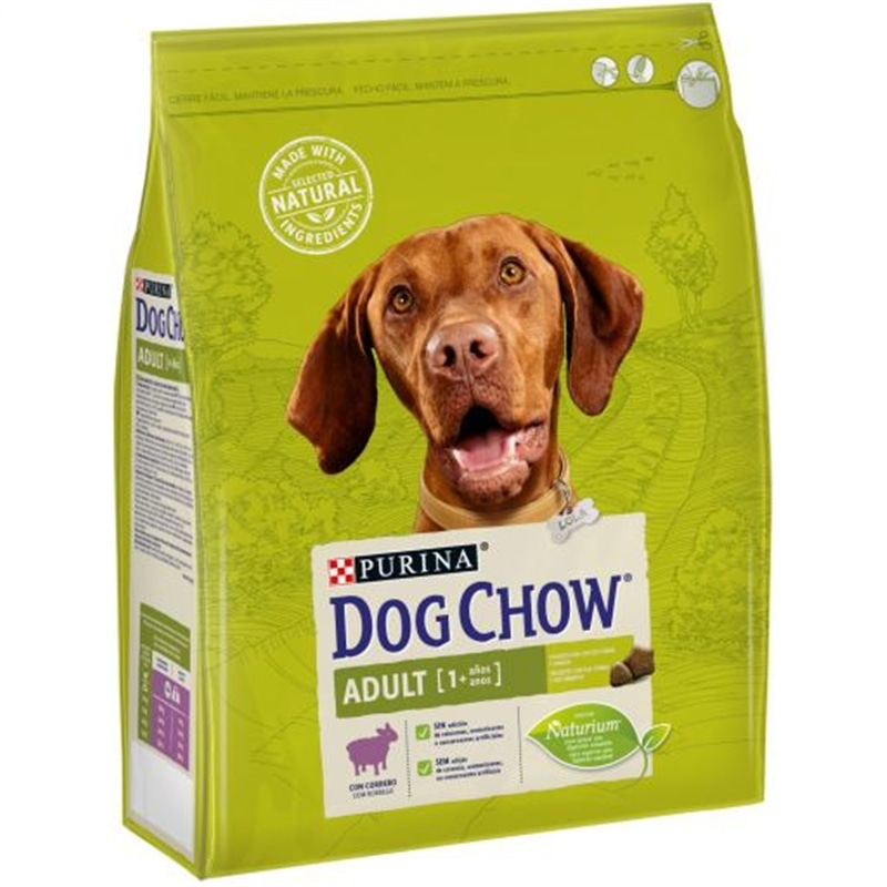 Dog Chow Adult Lamb & Rice 14kg Purina - 1530030005