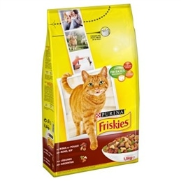 Adult Gato Carne Vaca Frango Legumes 1,5kg  Friskies - 1530060030
