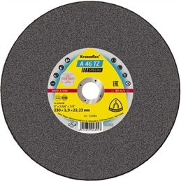 Disco Corte Inox 180x1,6x22 A46TZ - 1230140067
