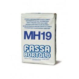 Reboco Exterior HID MH19 30kg Fassa - 1320300010