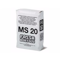 Reboco Interior MS20 30kg Fassa - 1320300009