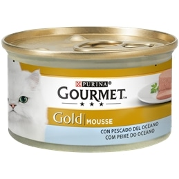 Gourmet Gold Mousse com Peixe do Oceano 85gr - 1540260030