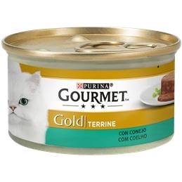 Gourmet Gold Terrine com Coelho 85gr - 1540260034