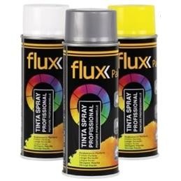 Tinta Spray 400ml Flux - Amarelo segurança - 1370110079