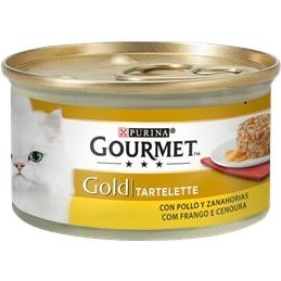 Gourmet Gold Tartelette com Frango e Cenoura 85gr - 1540260021