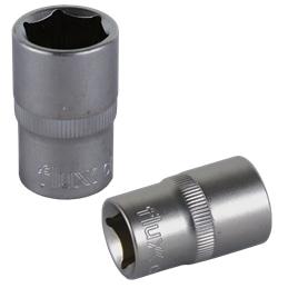 Chave Caixa Sextavada CRV Flux - 1/2 x 8mm - 1250470041