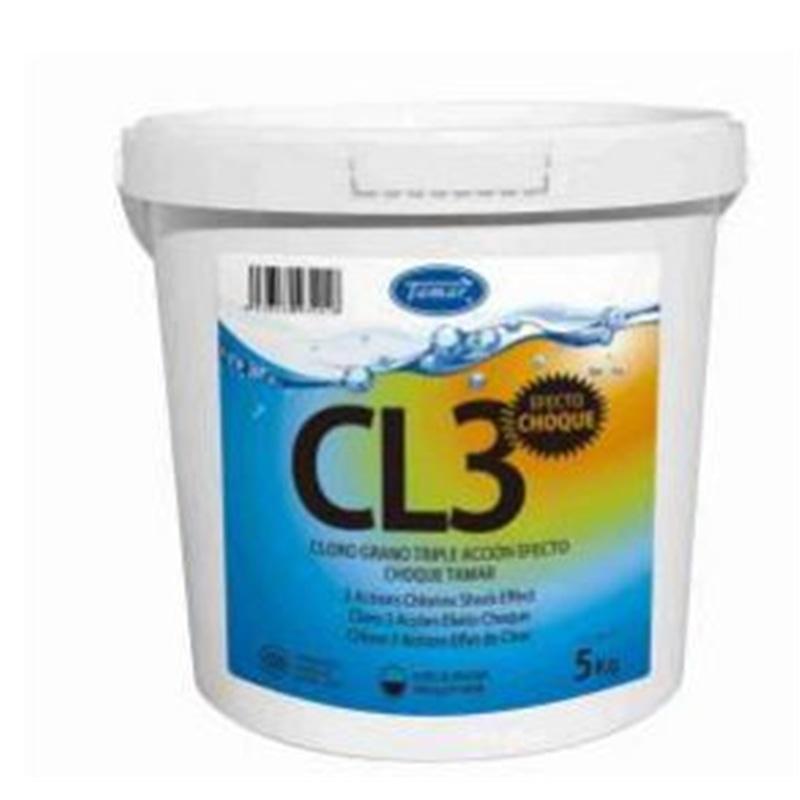 Cloro 3 Açoes Efeito Choque 5kg Tamar - 1670010015
