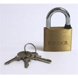 Cadeado Segurança Latao  9050  50mmTeicocil - 60mm - 1350030009