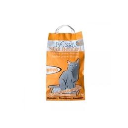 Areia Absorvente Perfumada p/gato 5kg Saint Bernard - 1050020013