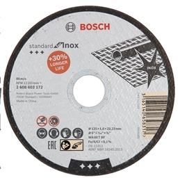Disco Corte Standard Inox - 115x1 - 1230140079