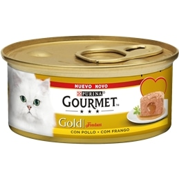Gourmet Gold Fondant com Frango 85gr - 1540260102