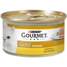 Gourmet Gold Mousse com Frango 85gr - 1540260035