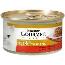 Gourmet Gold Tartelette com Vaca e Tomate 85gr - 1540260022