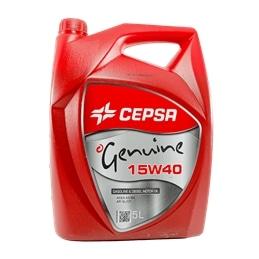 Oleo Motor GENUINE  15W40 5lt Cepsa - 1480030052