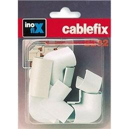 Acessorios para Cablefix 2202 Castanho Kit10 - 1330290007