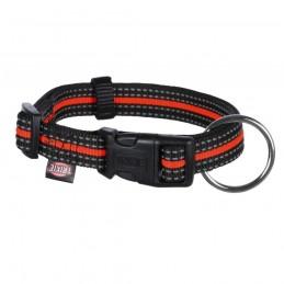 Coleira Fusion para Gato Preto/Laranja Trixie - L-XL - 1040080258
